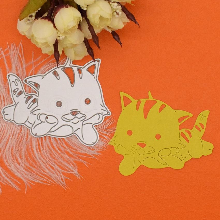 Feather Metal DIY Cutting Die Stencil Scrapbook Album Paper Card Embossing RDR