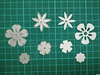 Flower Metal Die Cutting Scrapbooking Embossing Dies Cut Stencils Decorative Cards DIY Album Card Paper Card