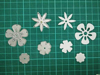 Flower Metal Die Cutting Scrapbooking Embossing Dies Cut Stencils Decorative Cards DIY album Card Paper Card Maker irregular flowers metal die cutting scrapbooking embossing dies cut stencils decorative cards diy album card paper card maker