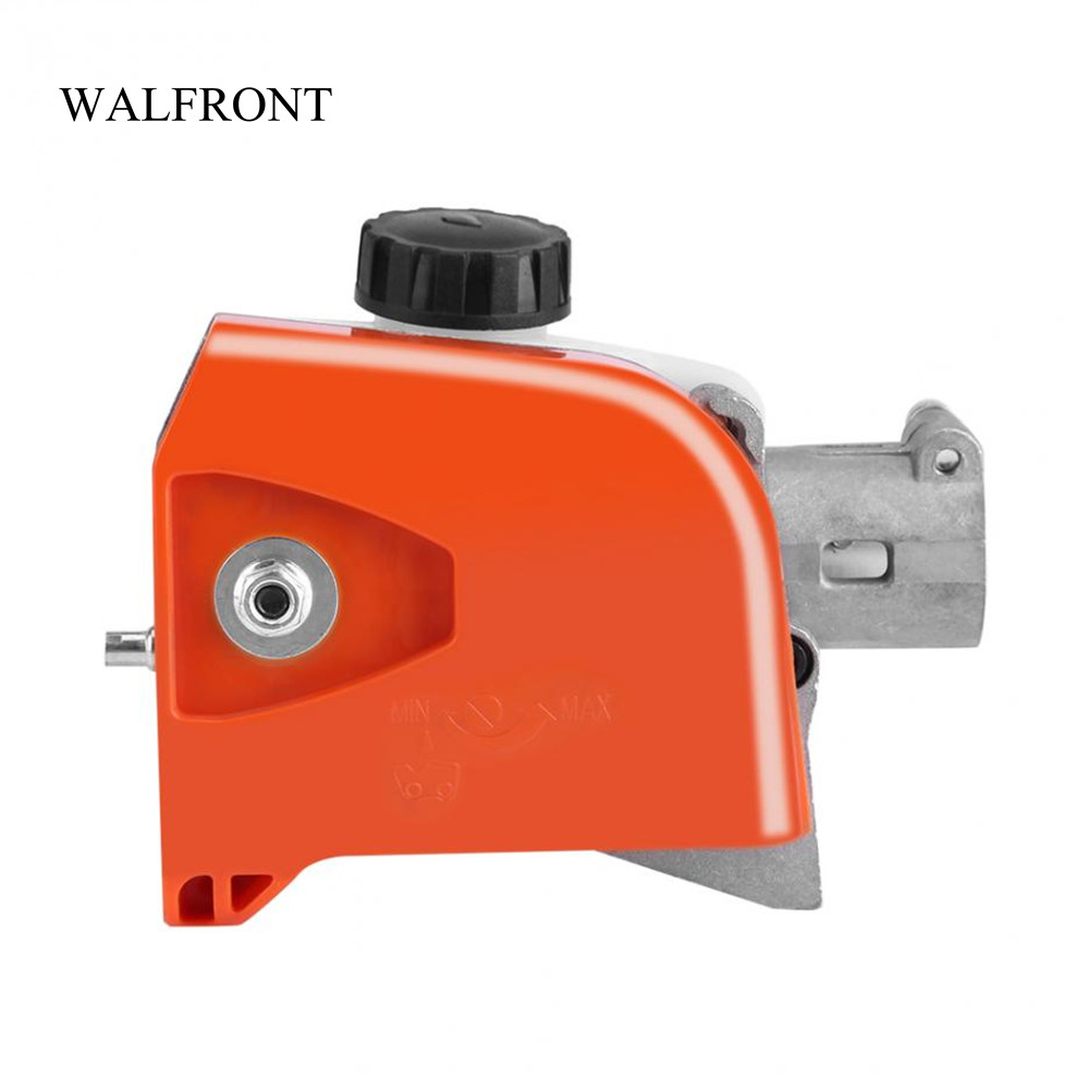 Tree Cutter Us 26 77 29 Off Walfront 26mm Chainsaw Gear Head 9 Spline Pole Saw Tree Cutter Gearbox Tool Grass Trimmer Lawn Mower Machine Parts Garden Tool In