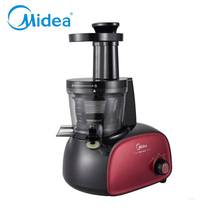 Midea slow juicer low speed fruit juice machine:Red,MJ-JS20A,1.0L ABS plastic shell household thermomix juice extractor machine
