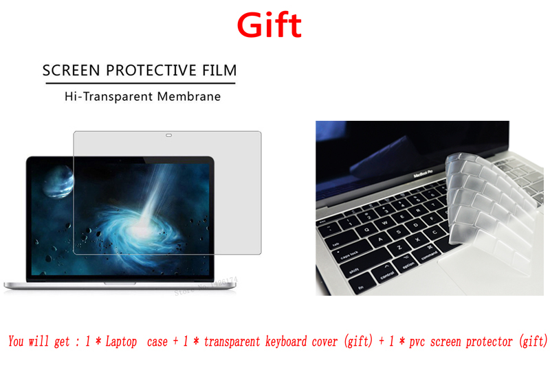 New HQ color printing Case For Apple Macbook Air Pro Retina 11 12 13 15 A1932 New Air Pro 13 3 15 4 inch With Touch Bar in Laptop Bags Cases from Computer Office