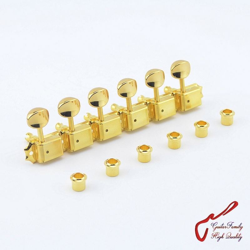 Original Genuine 6 In-line GOTOH SD91-05M Kluson Vintage  Guitar Machine Heads Tuners  ( Gold ) MADE IN JAPAN купить