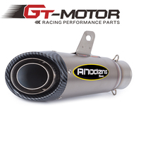 GT Motor   61MM Universal Motorcycle Exhaust Pipe Modified Exhaust Stainless Steel Carbon Fiber FOR BMW|universal motorcycle exhaust pipes|motorcycle exhaust pipe|exhaust stainless steel -