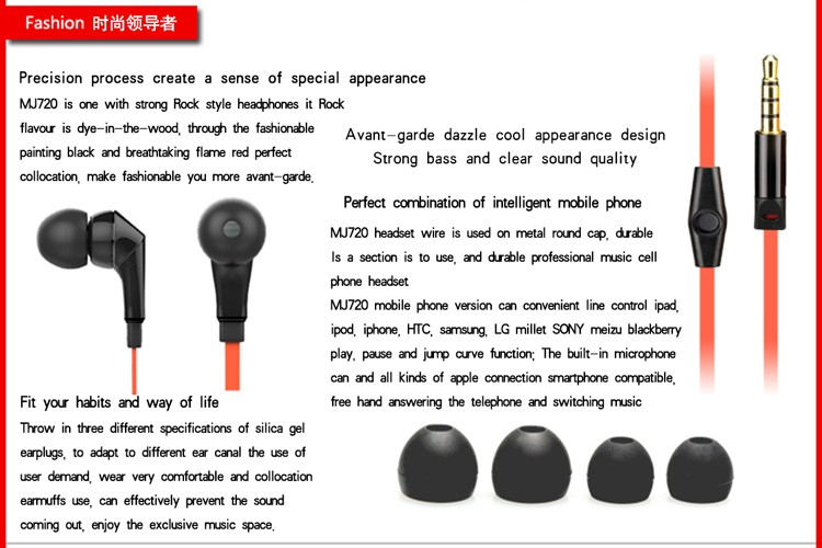 cho Earbuds United Stereo 3