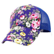 Feitong 2017 Summer Women Cap Floral Printed Cotton Baseball Cap Girls Snapback Hip Hop Flat Hat Baseball Flat Hats gravity fall