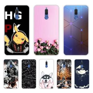 Image 1 - Huawei 社メイト 10 Lite のケースシリコーンソフトカバー huawei 社 honor 9i ケースカバーかわいい Coque Fundas huawei 社ノヴァ 2i 電話ケース