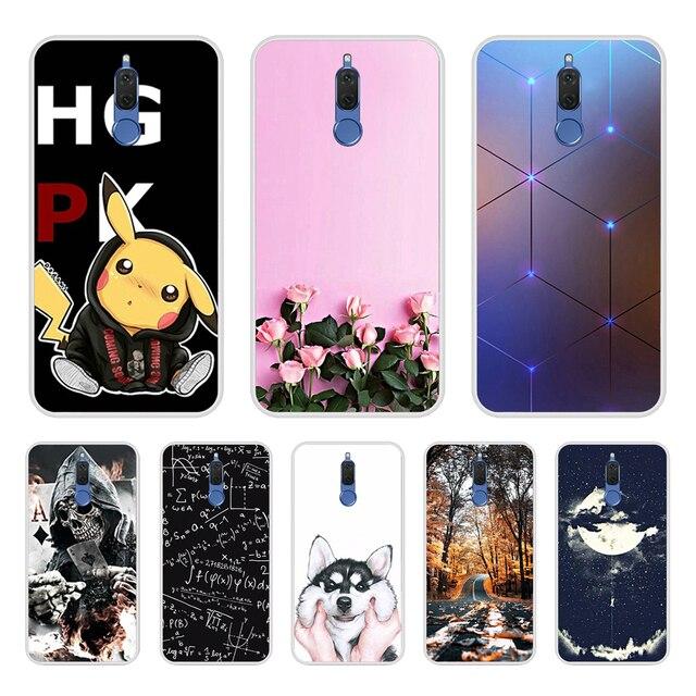 Huawei 社メイト 10 Lite のケースシリコーンソフトカバー huawei 社 honor 9i ケースカバーかわいい Coque Fundas huawei 社ノヴァ 2i 電話ケース