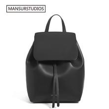 حقيبة ظهر من الجلد للسيدات من MANSURSTUDIOS حقيبة ظهر من الجلد الحقيقي للسيدات ، حقيبة مدرسية من الجلد للبنات من Gavriel. شحن مجاني