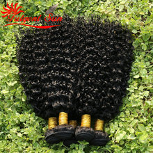 6A GRADE brazilian curly virgin hair 10 pcs free shipping,afro kinky curly virgin hair brazillian human hair extension