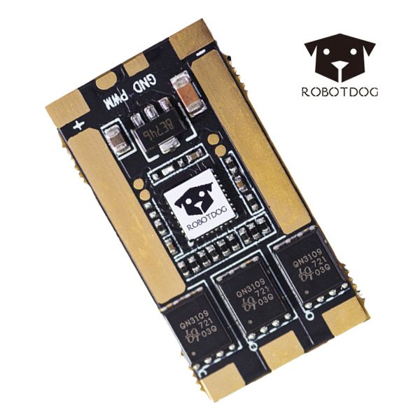 Robotdog 35A 32Bit 2-6S BLHeli_32 ESC Dshot1200 For DIY RC Racing Drone FPV Dron For Drone Competition