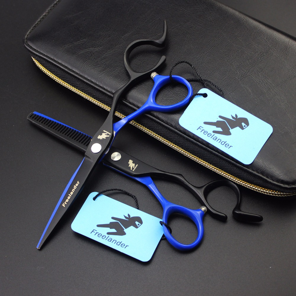 6inch Blue Hair Scissors set ,Straight & Thinning scissors set,  barber shears6inch Blue Hair Scissors set ,Straight & Thinning scissors set,  barber shears