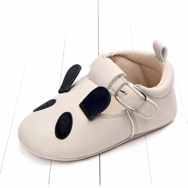 Baby First Walkers Matte leather Shoes for Baby Girl Boy Cartoon Animal Newborn Slippers Footwear Booties Kids Gift Child Shoes (43)