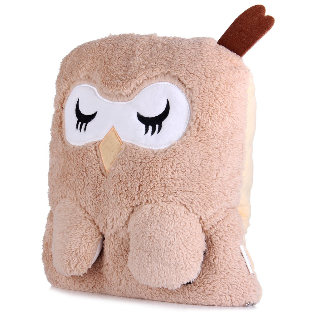 Cute Pillow Warmer : New F5101 Cute Owl Cushion Pillow Shaped Plush Electronic Foot Hand Warmer Decoration ...