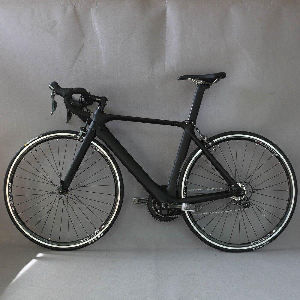Vélo complet 700C vélo de route en Fiber de carbone vélo complet vélo de route BICICLETTA vélo de route SHIMANO 4700 20 vitesses Bicicleta