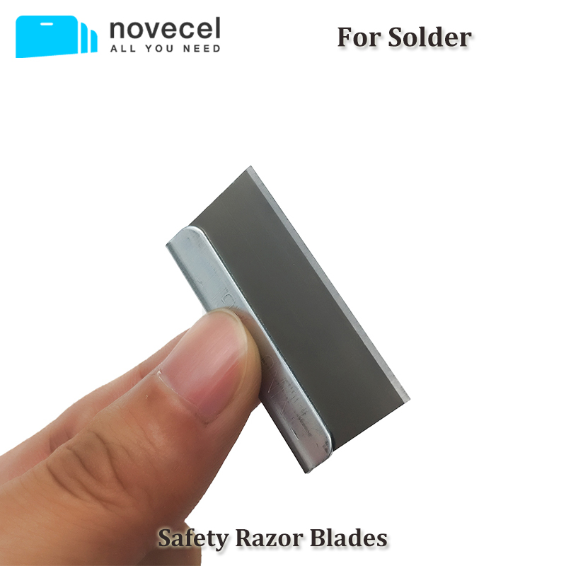 100 pcs/pack Single Edge Safety Razor Blades for Solder Removing the Polarizer Film