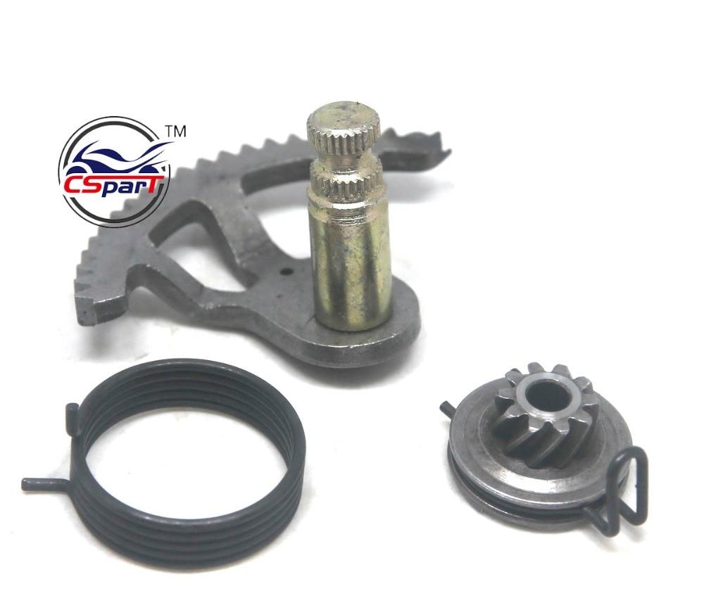 Kick starter  start gear sprocket spring kit For KTM 50 65 50CC 65CC Mini SR SX   Start er