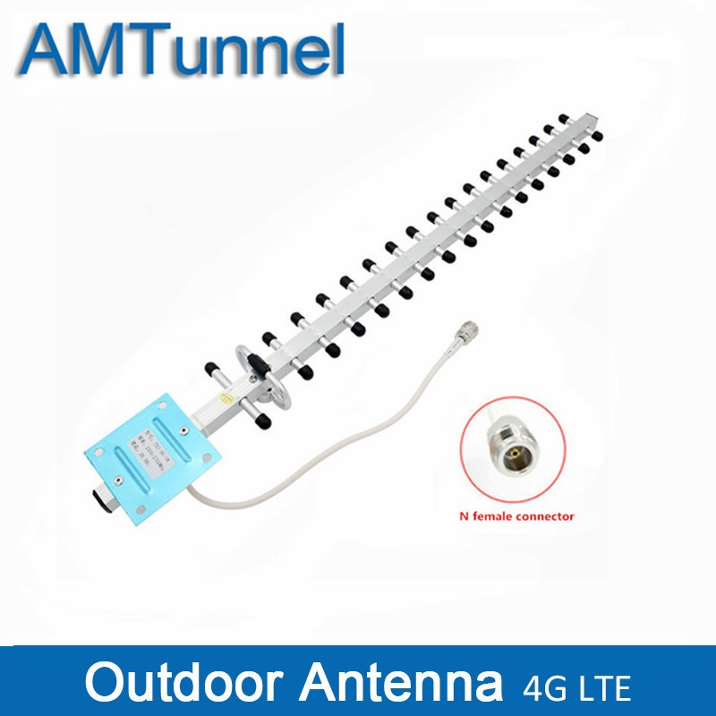 4G Antenna 4G Outdoor Antenna 20dBi Yagi antenna N female Phone Signal Accept Antenna for 4G Signal Repeater amplifier