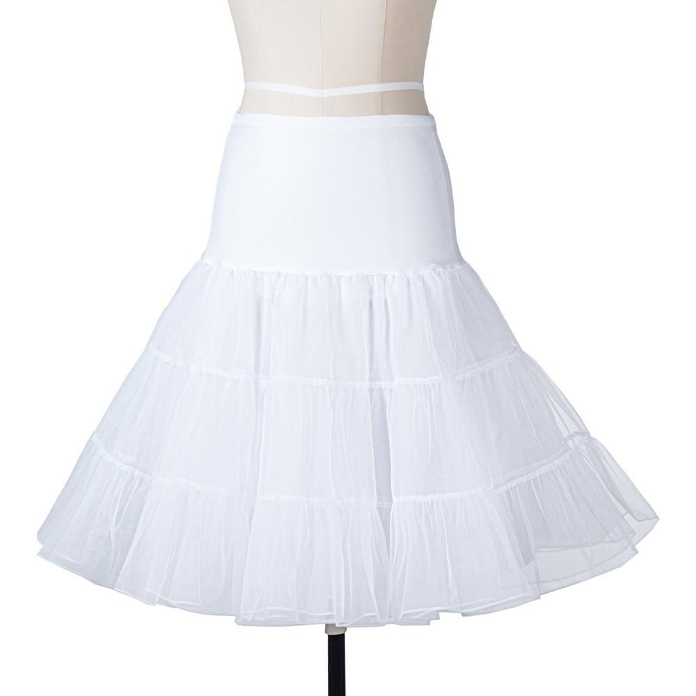 14 Färg Petticoat Kvinna 3 Layer Girls Underskirt Tutu Crinoline - Bröllopstillbehör - Foto 1