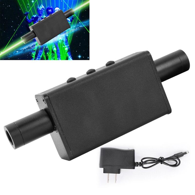 Double-headed Green Laser Flashlight 532nm Laser Light Charging Pen Positioning Beam Dot Pointer Dancing DJ Show