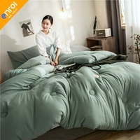 Winter quilt comforter blanket duvet filling cotton cover twin single queen supper king size 1500g Cheap High Quality