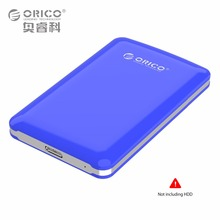 ORICO Tool Free HDD USB 3.0 to SATA 2.5 box External Hard Disk Drive Enclosure Case Portable High Speed For Windows Mac OS Box