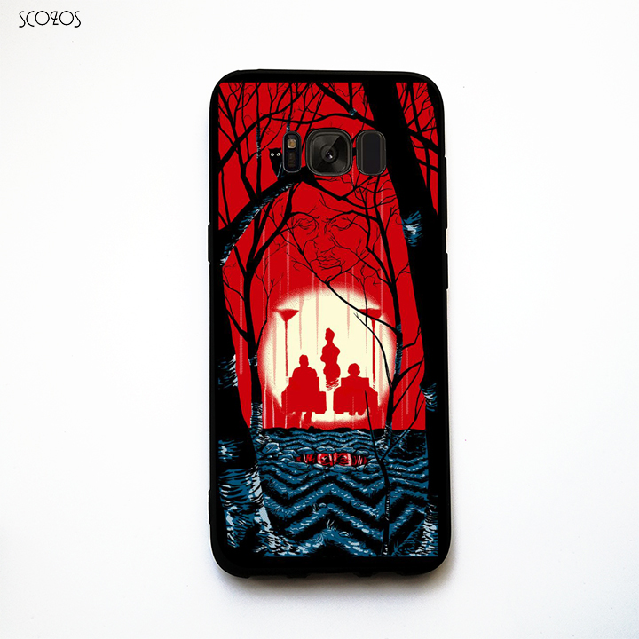 SCOZOS Welcome to twin peaks phone case soft Cover For Samsung Galaxy S6 S7 Edge S8 Plus J3 J5 J7 2016 A3 A5 A7 2016 #pb961