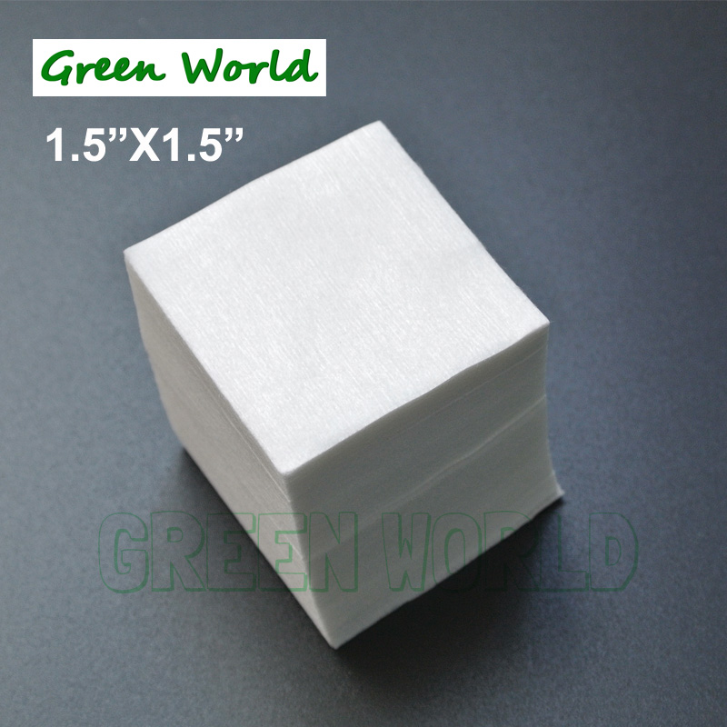 Thickness Cleaning-Patches Biodegradable Green Gun World World-150pcs/Lot High-Absorbency