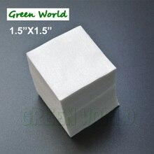 Green World 150 шт./лот Патчи для чистки ружья, высокая впитываемость, мягкость, биоразлагаемые, толщина чистой ткани