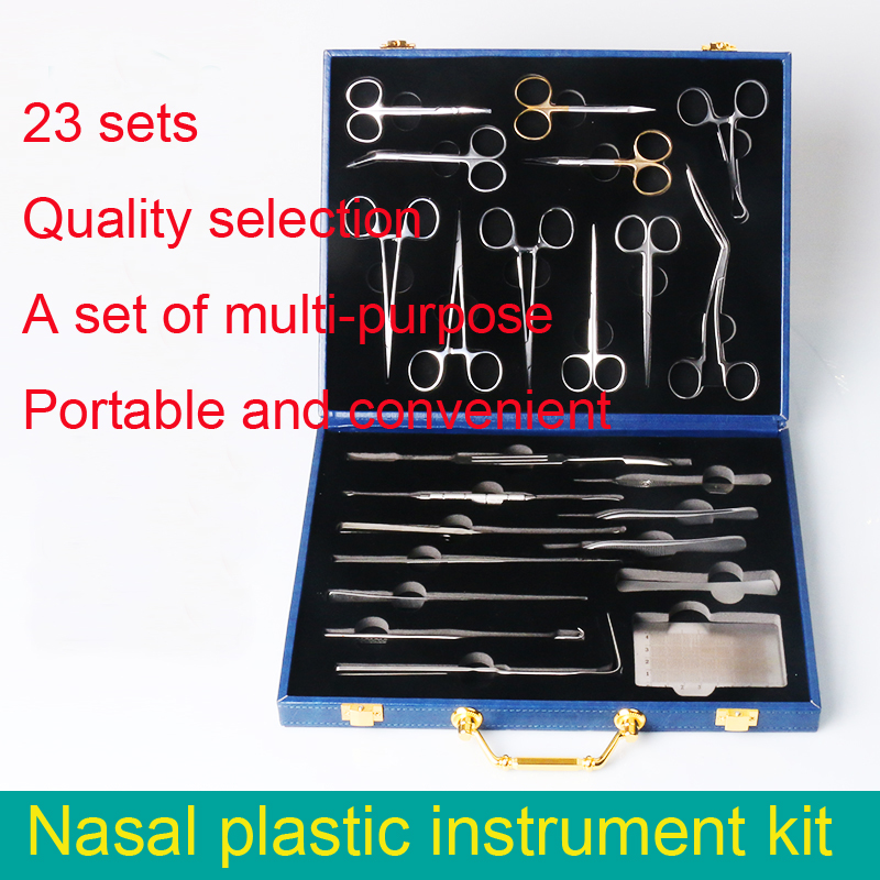 Beauty & Health>> Makeup Tools / Accessories Beauty nose aesthetic design kit scissors measurement tool combination instrument