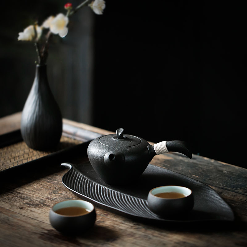 TANGPIN ceramic tea trays porcelain tea table chinese kung fu serving trays accessories in Tea Trays from Home Garden