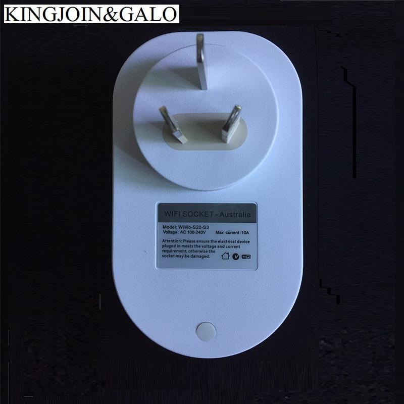 S20 Wi-Fi Интеллектуальная розетка для дистанционного управления EU UK US AU Домашняя