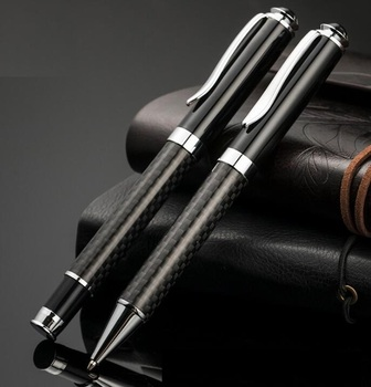 Free Laser Logo Carbon Fiber Pen  Best For Company Logo ,Gifts ,Corporate Gifts,Business Gifts,200pcs/ lot