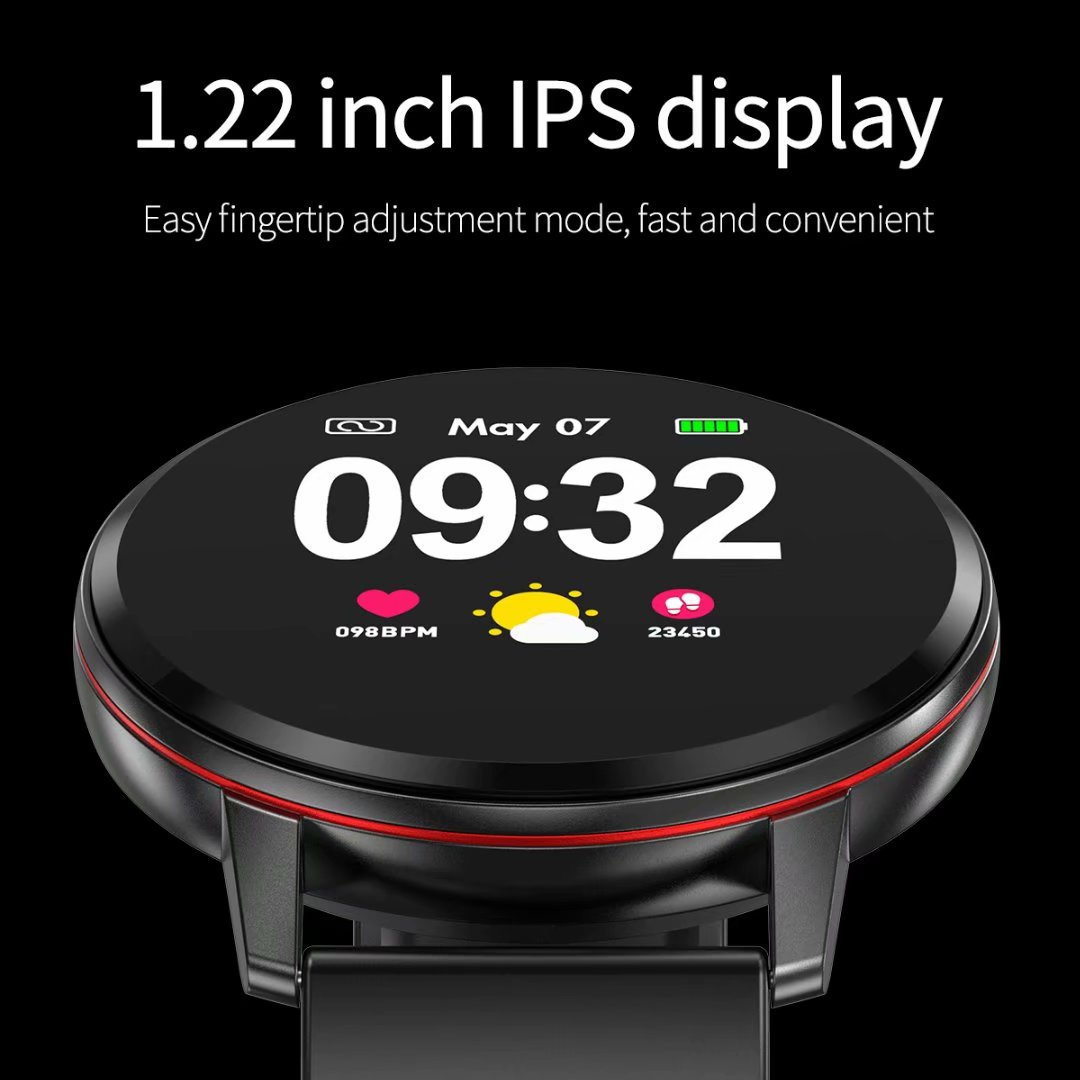 S01 Smart Watch 2019 Activity Fitness Tracker Blood Pressure Heart Rate Monitor IP67 Waterproof Sport Smartwatch for Men Women in Smart Watches from Consumer Electronics