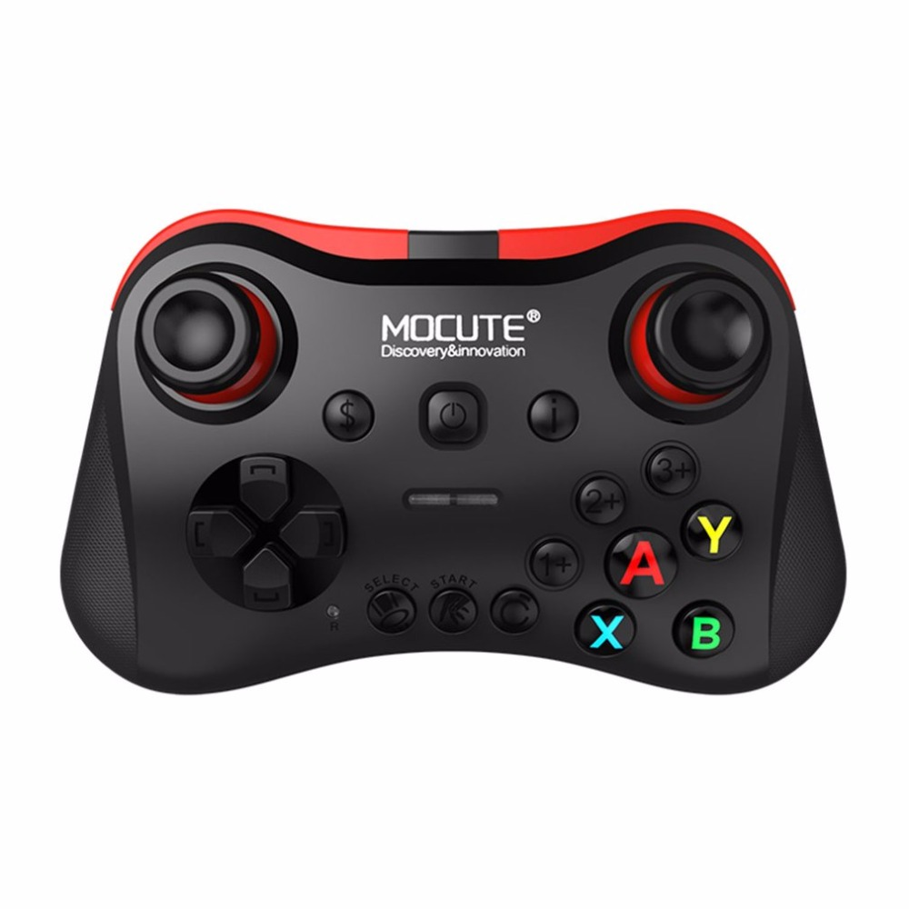 MOCUTE Wireless Bluetooth Gamepad Phone Tablet Video Games Controller Joy Stick for Android for iOS for PC VR Drop Shipping mocute 052 bluetooth vr remote controller black