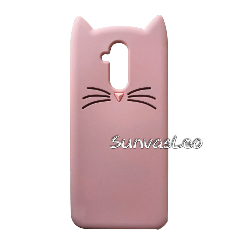 For Huawei Mate 20 Lite 3D Cartoon Soft Silicone Case Phone Back Cover Skin Shell For Huawei Mate20 Lite 6 3 quot Cases Skin Fundas in Fitted Cases from Cellphones amp Telecommunications