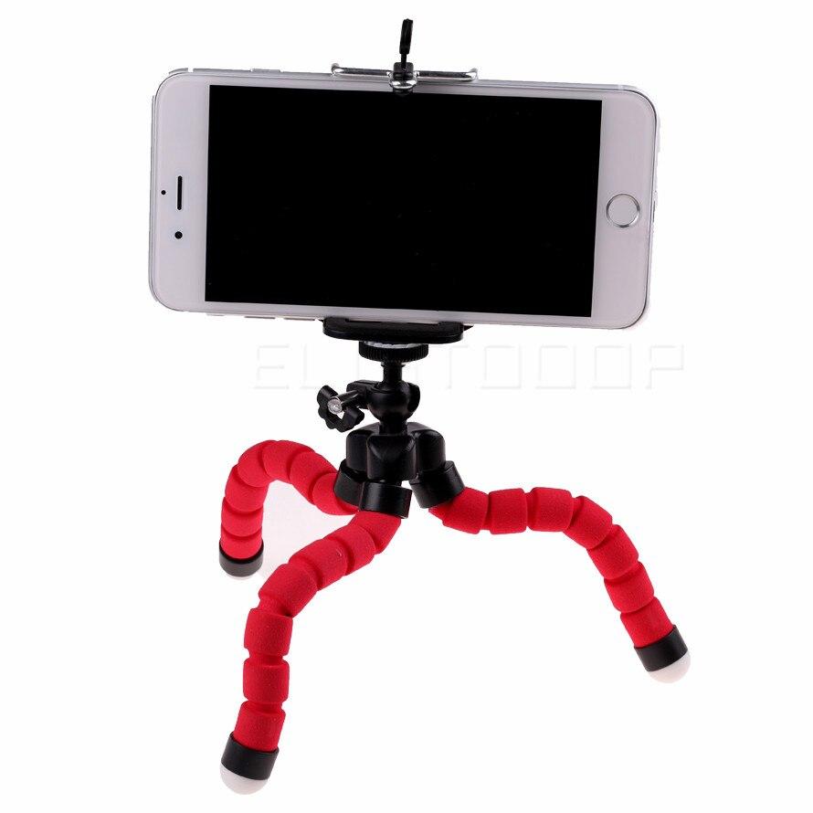 Автомобильный держатель для телефона, подставка для мобильного телефона, гибкий кронштейн для штатива осьминога, цифровая камера, мини Портативный Гибкий Настольный стент