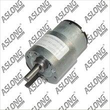 Бесплатная доставка jgb37-520 мотор-редуктор микро-си мотор-редуктор 6 В 12 В 24 В двигатель постоянного тока