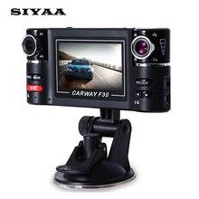 """Carway F30 Del Coche DVR 2.7 """"TFT LCD HD 1080 P Cámara Dual lente Girada Vehículo Videocámara Grabadora de Vídeo Digital de Visión Nocturna de Conducción"""