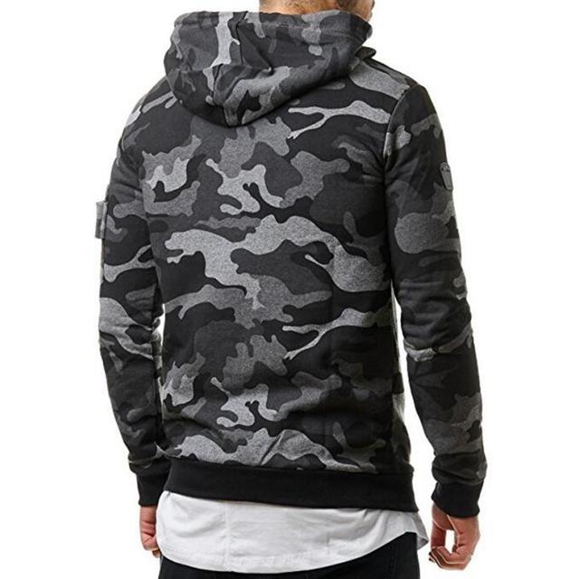 Shigo Camouflage Hoodie For Men