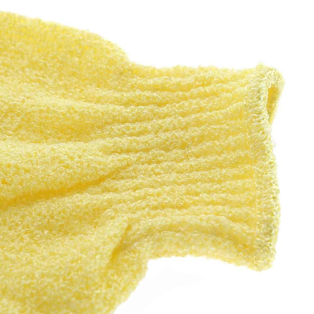 دش قفازات حمام التقشير غسل الجلد سبا تدليك فرك منظف الجسم قفاز 5 ألوان Freeshipping