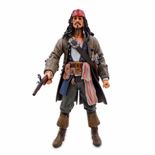 30cm Pirates of the Caribbean Captain Jack Sparrow PVC Action Figure Jackie Collectible Model Toy Doll For Kids Christmas Gift цена 2017