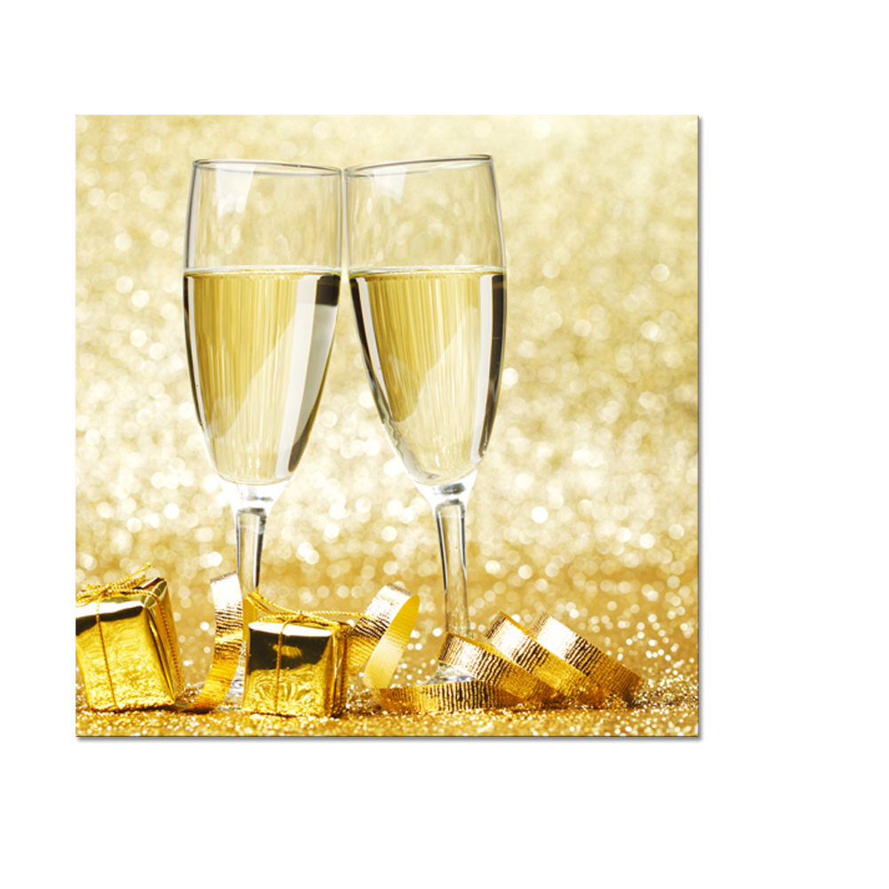 I Love Champagne Canvas Wall Art Sparkling Wine Canvas Printing ...