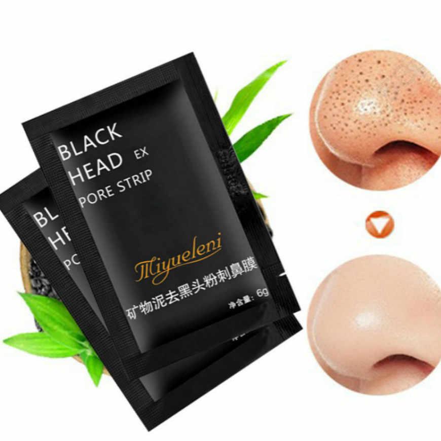 1 шт бамбуковые угли для удаления черных точек лица глубокие маски очищающие отшелушивающие черные Nud Facail маски для лица MRX