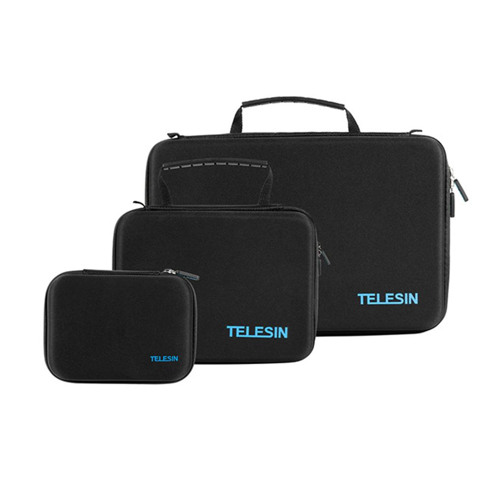 TELESIN Camera Waterproof Case Backpack Shockproof Storage Bag Pouch Cases for GoPro Hero <font><b>7</b></font> 6 5 4 <font><b>3</b></font> 2 SJ7000 <font><b>6000</b></font> Xiaomi Yi image