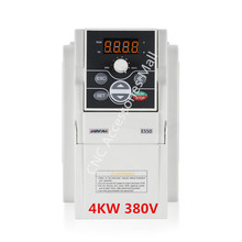 4kw E550 VFD inverter E550-4T0040L 380V 0-1000hz variable frequency driver for engraving machine цена