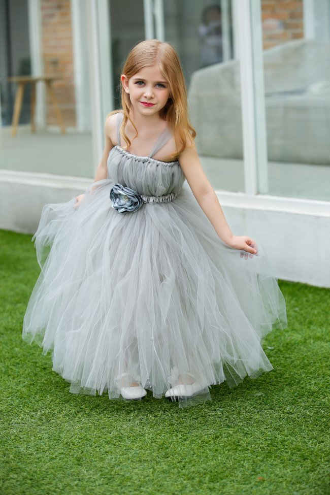 Princess Flower Girl Dresses Lace Flower Tutu Children Birthday Party Wedding Tutu Dress Kids Girls Clothes Girls Tulle Dress kids fashion comfortable bridesmaid clothes tulle tutu flower girl prom dress baby girls wedding birthday lace chiffon dresses
