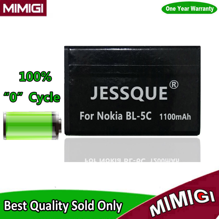 1100mAh BL-5C BL5C 5C Battery For <font><b>Nokia</b></font> 1600 E50 N70 N72 1100 1200 <font><b>1650</b></font> 2600 3100 3650 6230 6600 C2-06 X2-01 Accumulator AKKU image