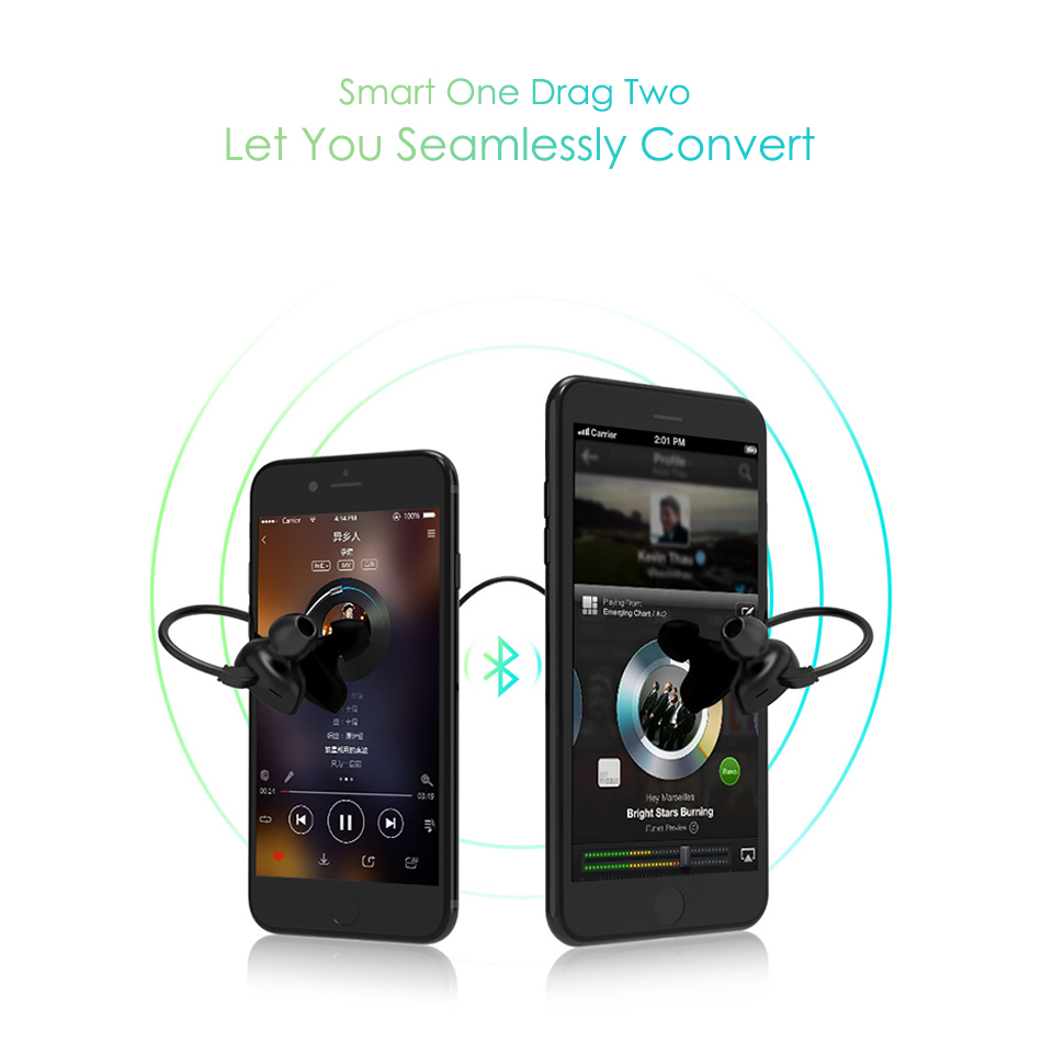 TTLIFE Bluetooth Earphone S1 Wireless Sports Waterproof Headset Music Stereo Headphones WIith Apt-x For Phone Xiaomi Original