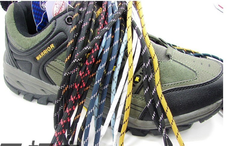 50 пар альпинистские ботинки обувь кружева шнурки 10 цветов можно смешивать